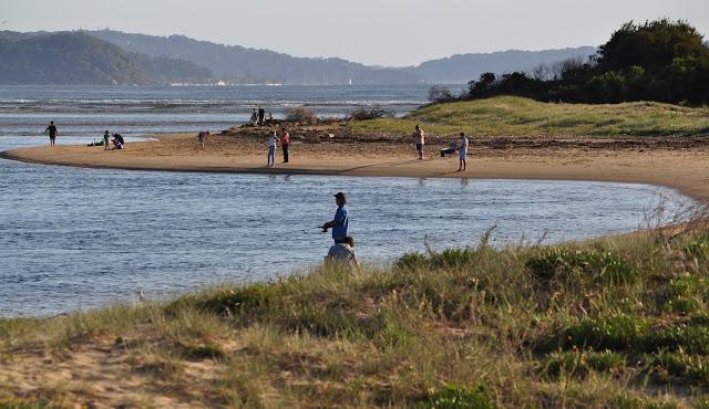Fishing near Ettalong