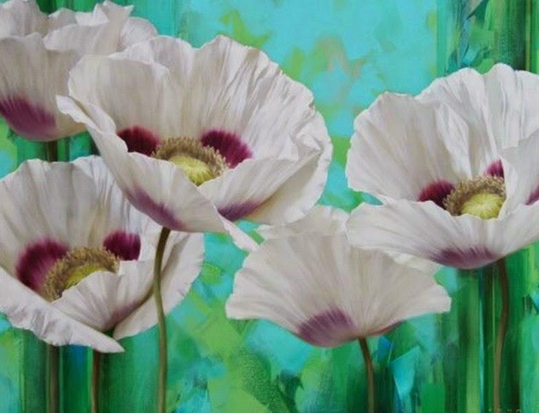 cuadros-de-flores-modernas-realistas