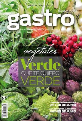 VERDE QUE TE QUIERO VERDE (vegetales) en JUNIO-JULIO