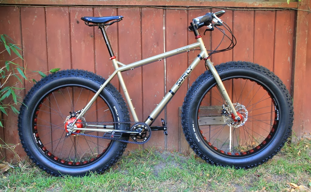 The Monkey Lab: Surly Moonlander Fat Bike with Rohloff ...