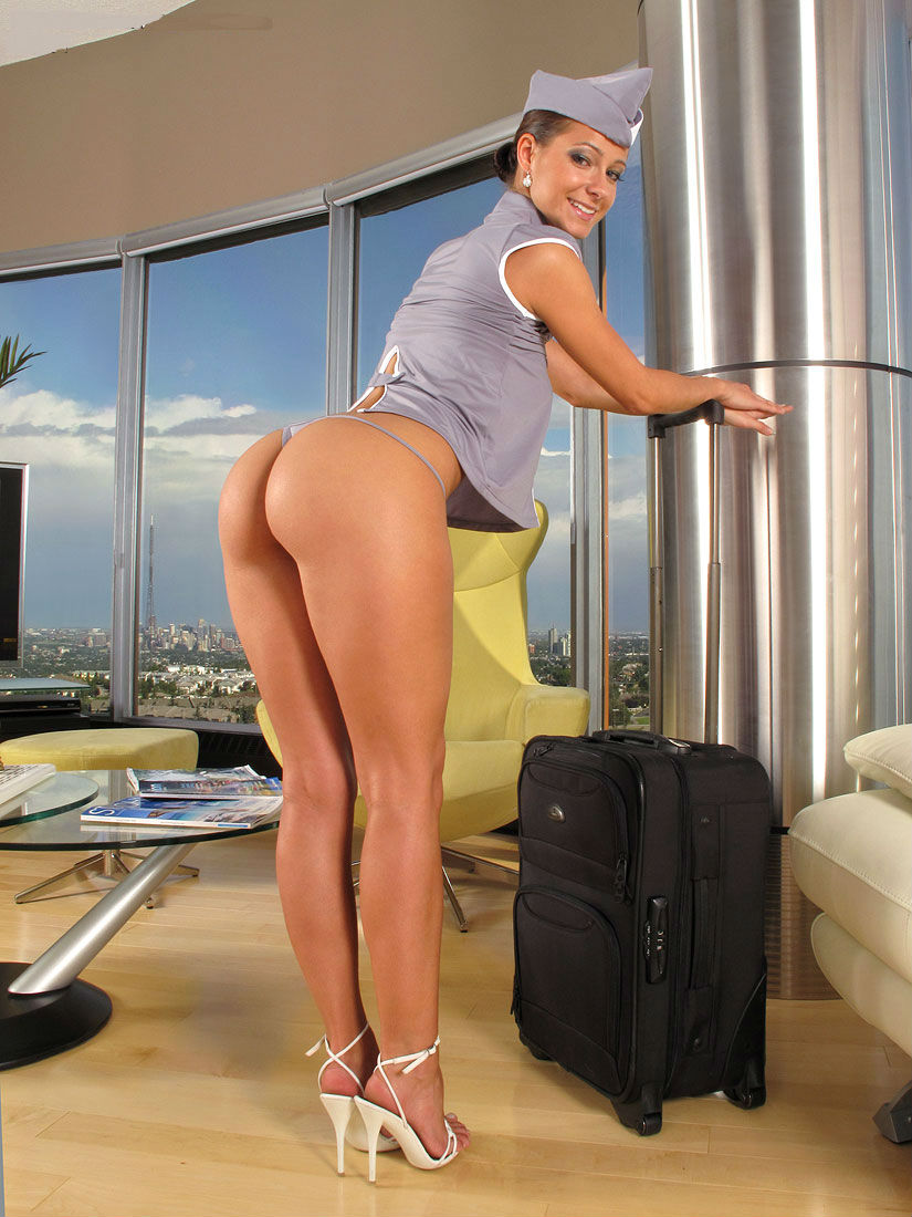 hot nude flight attendant