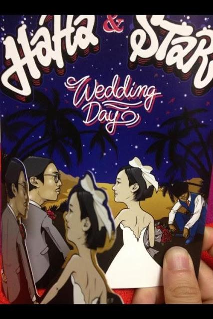 Undangan Pernikahan Haha & Byul
