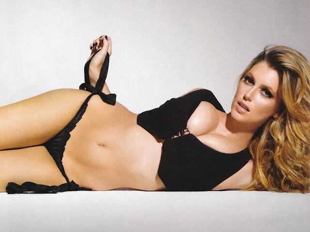 Diora Baird sexy in swimsuit