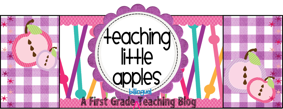 Teaching Little Apples: A First Grade Teaching Blog