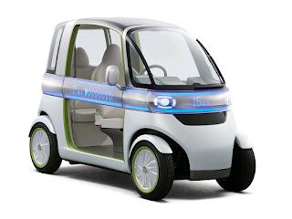 Daihatsu PICO Concept - Một dòng xe điện khá ấn tượng của Daihatsu