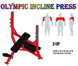 Olympic Incline Press Red