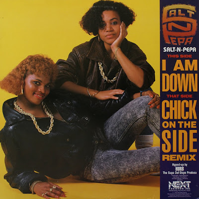 Salt-N-Pepa ‎– I Am Down / Chick On The Side (VLS) (1987) (320 kbps)