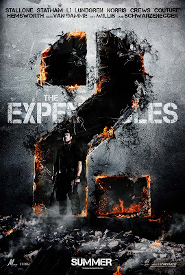 The Expendables 2 Stallone HD Poster