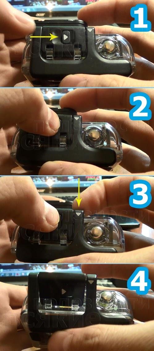 как правильно достать GoPro из бокса