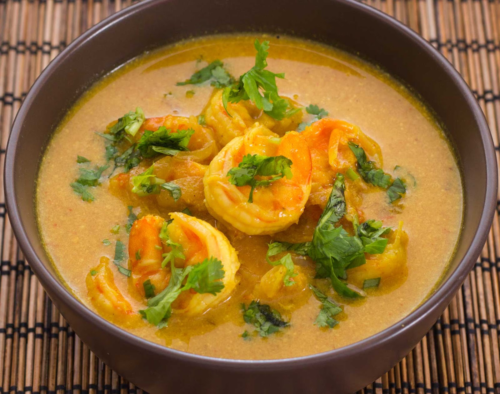Garlic Shrimp In Coconut Milk, Tomatoes And Cilantro Recipes ...