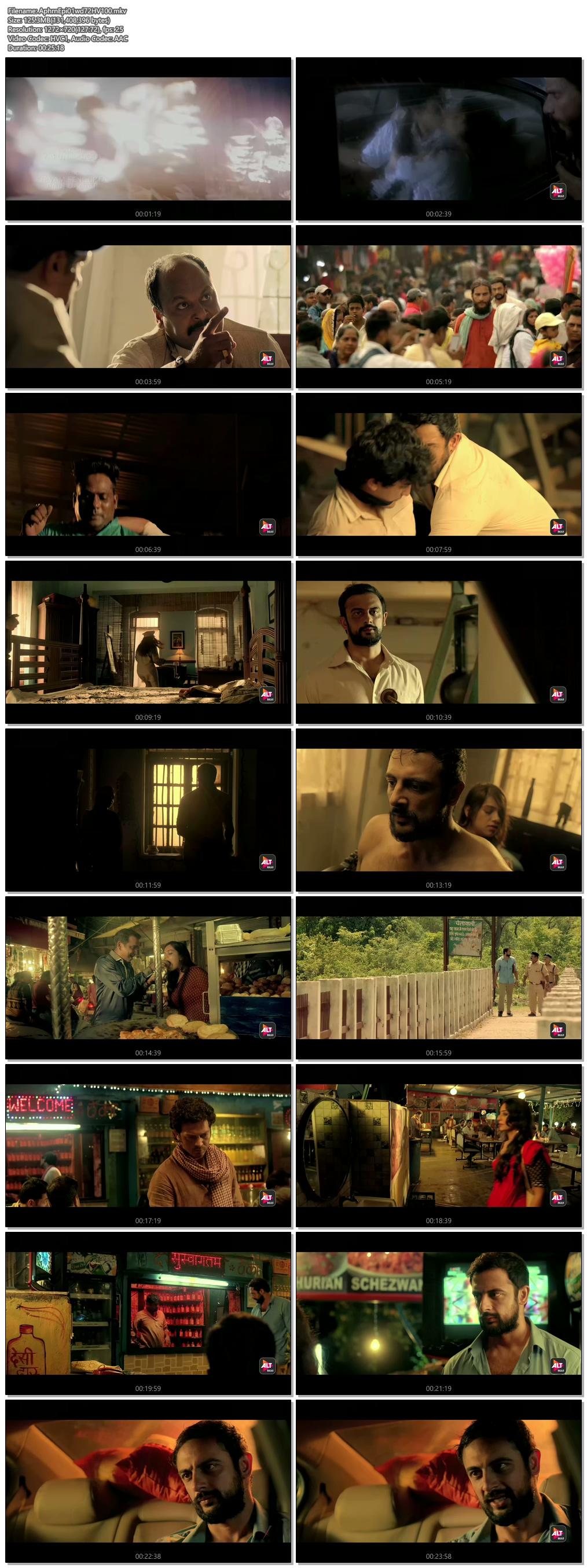 Screenshots Of Hindi Show Apharan Season 01 2018 Complete - All Episodes 300MB 720P HD