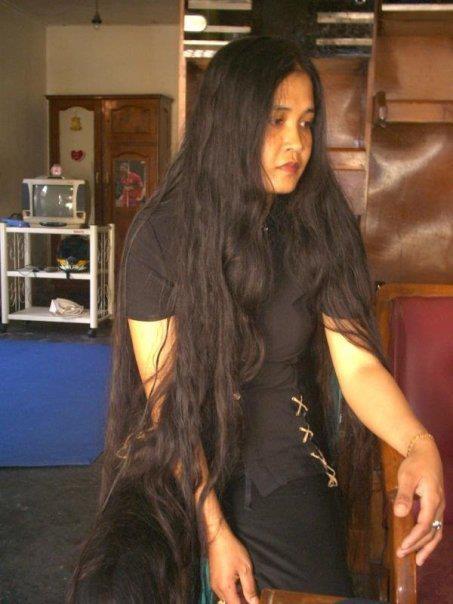 Head Shave Long Hair