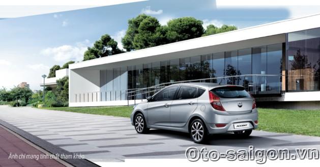 Xe Hyundai Accent Hatchback 5 cua 2014 3 Xe Hyundai Accent Hatchback 5 cửa 2014