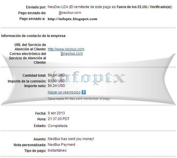 3º pago neobux $6.24 Neobux-3p