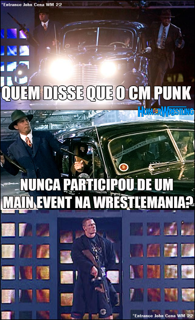 Ele já esteve no main-event da WrestleMania