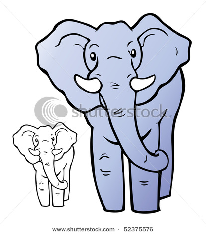 Elephant cartoon picture