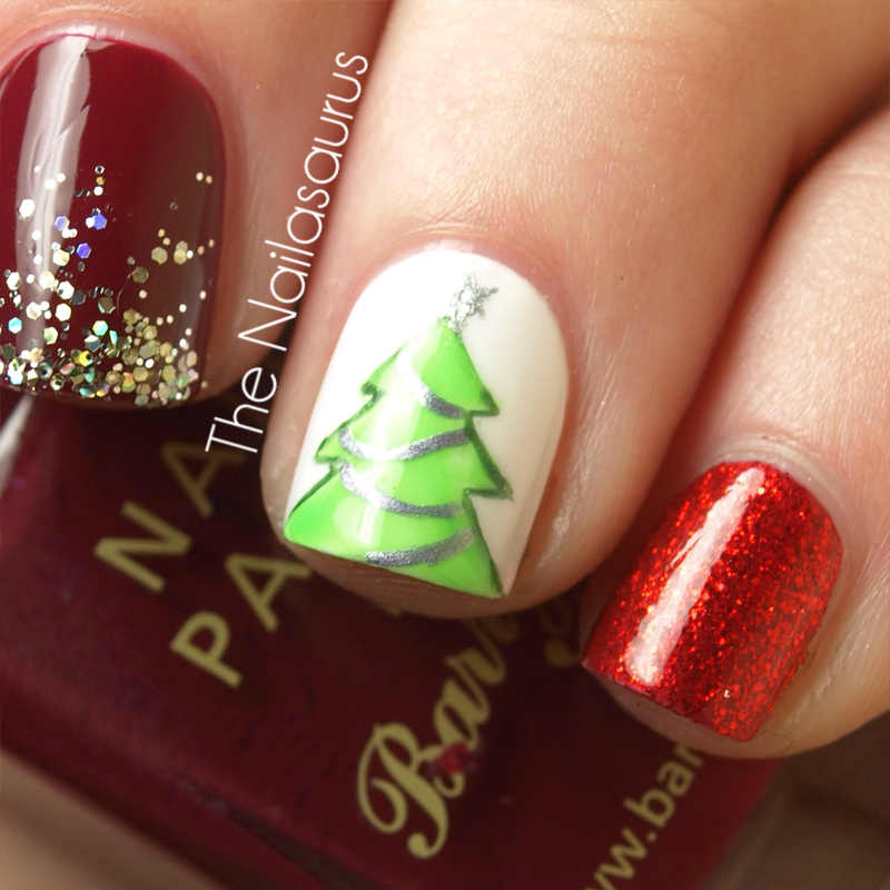 12 Days of Christmas Nails: Day 12… Mash Up