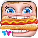 Hot Dog Truck : Lunch Time Rush! Cook, Serve, Eat & Play App iTunes App Icon Logo By Kids Fun Club by TabTale - FreeApps.ws