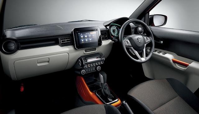 2016 Suzuki Ignis Concept Interiors