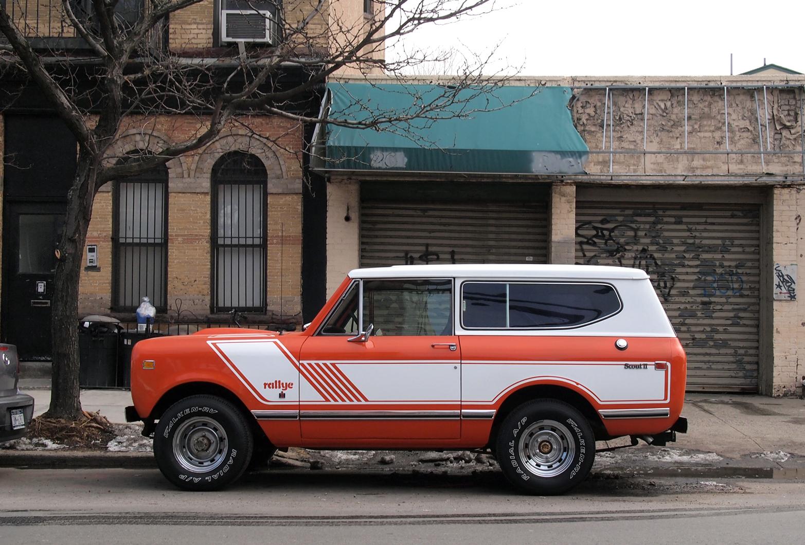 P on 1972 Ih Scout Ii Custom