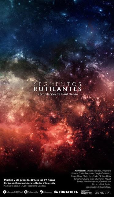 """Presentan el libro """"Segmentos Rutilantes"""" una compilación de textos de Raúl Renán"""