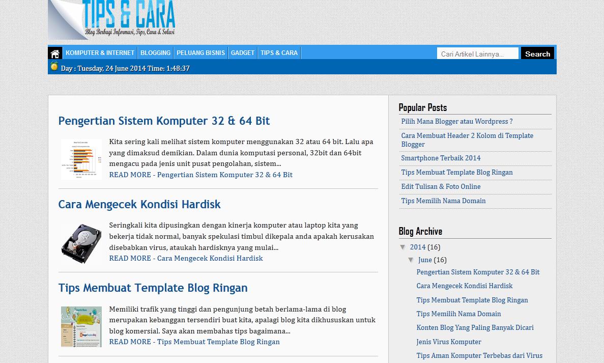 bakat developer blog profesional + cara menjadi desainer blogger template