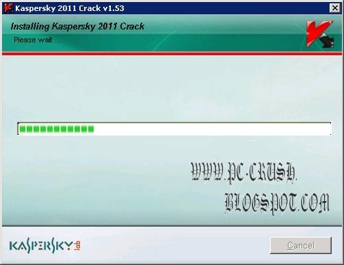 cara menggunakan crack kaspersky antivirus 2011 6