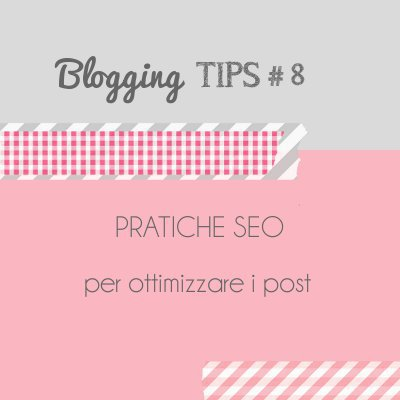 Blogging Tips 8: SEO