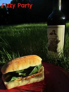 Celebrate magazine-picnic sandwich