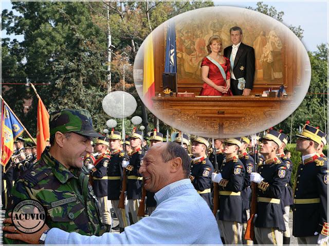Funny photo Traian Basescu Radu Duda
