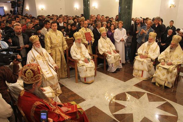 Освећење храма св. Георгија у Пљевљима, 2011. лета господњег
