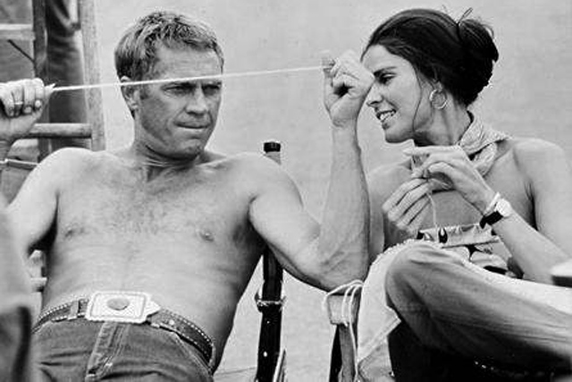 Cinema Style File--Steve McQueen and Ali MacGraw Heat Up ...