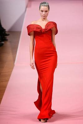 robe rouge de cérémonie des oscar, robe femme fatale alexis mabille haute couture 2013