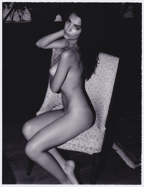 Emily Ratajkowski – Topless Photoshoot by Jonathan Leder