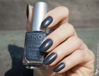 Kiko Denim #466 French Charcoal