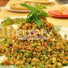 Bulgur Salatası Tarifi Nefis Salata Tarifleri