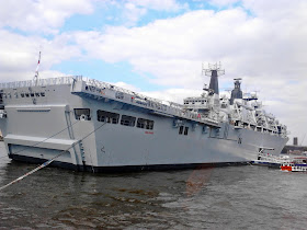 GREENWICH: HMS BULWARK TOUR: