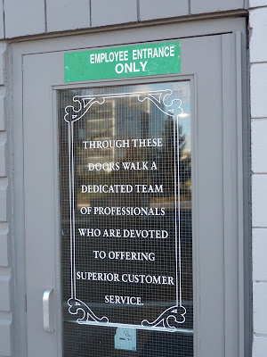 Employee entrance motivation and marketing