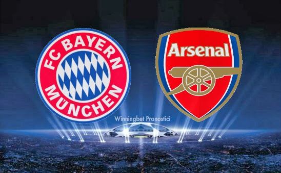 pronostico-bayern-monaco-arsenal-champions-league