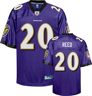 Ed Reed Baltimore Ravens Jersey
