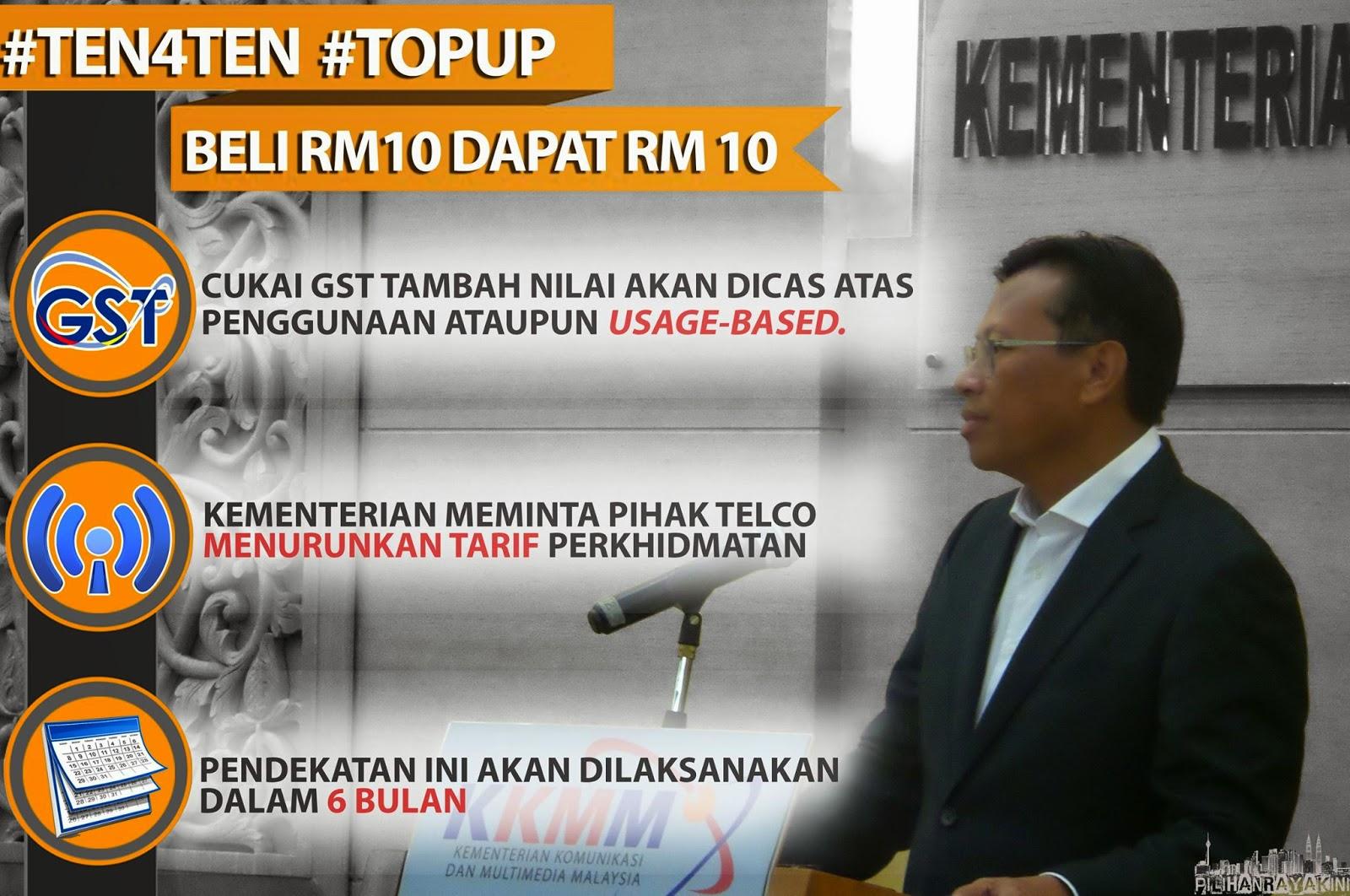 Kabinet setuju cadangan tambah nilai prabayar rm10 dapat rm10 menteri kkmm pilihanraya kini - Kabinet multimedia ...