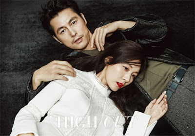 Kim Ha Neul and Jung Woo Sung - High Cut Magazine Vol.165
