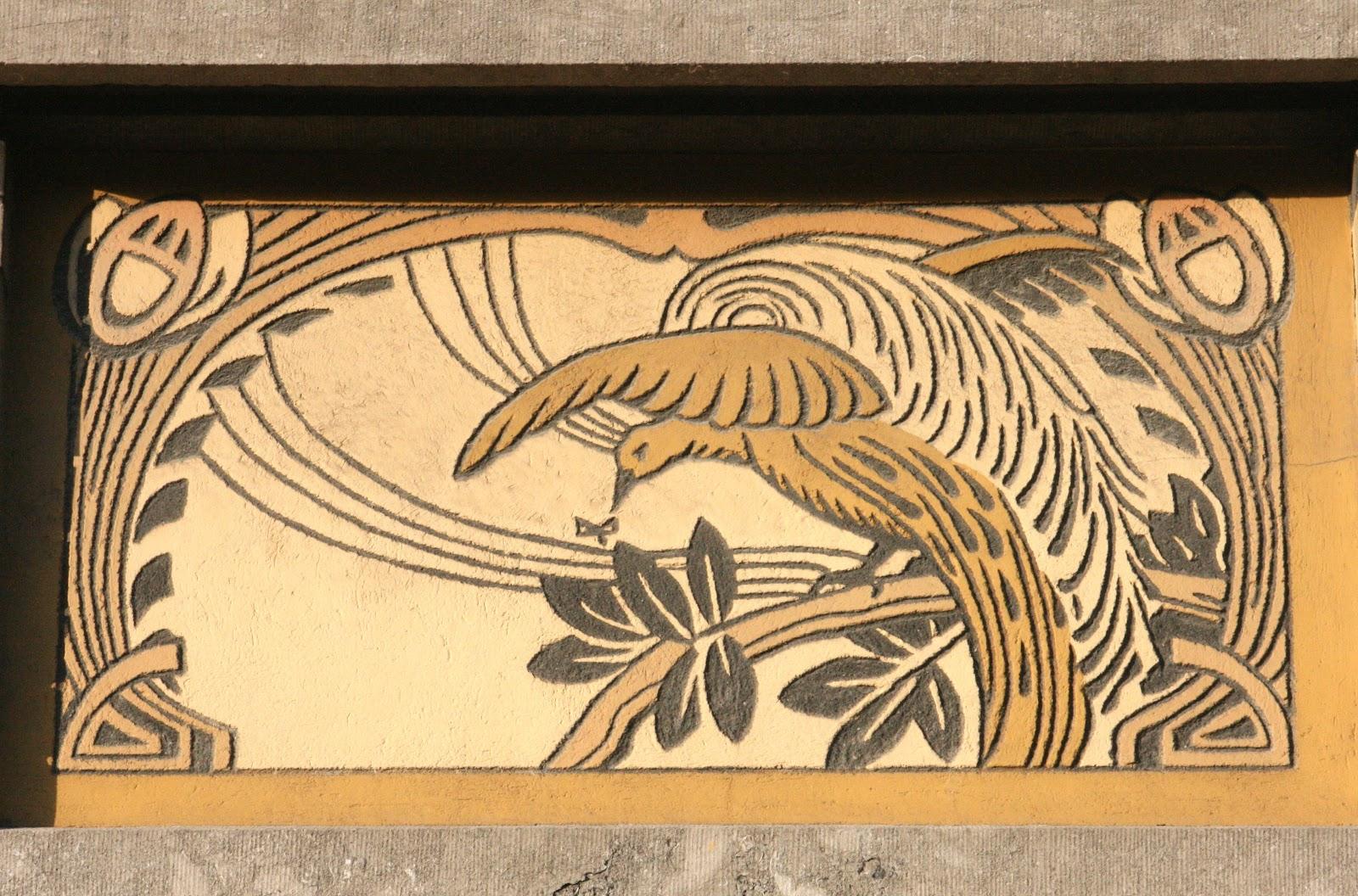 Art nouveau et jugendstil courants artistiques et litt raires de 1880 1920 sgraffites - Le roi du matelas tourcoing ...