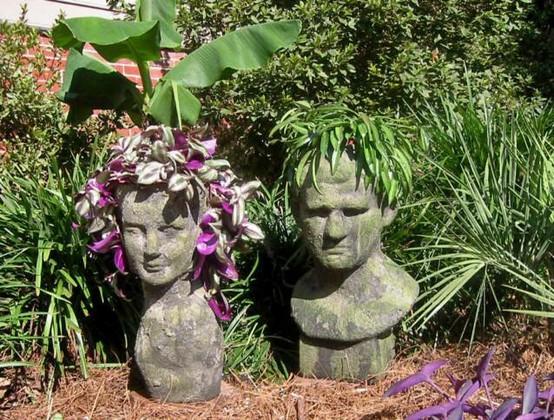 Blumenschmuck im Garten pflanzen