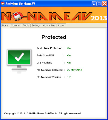 Antivirus No-NameAV Ver. 1.2