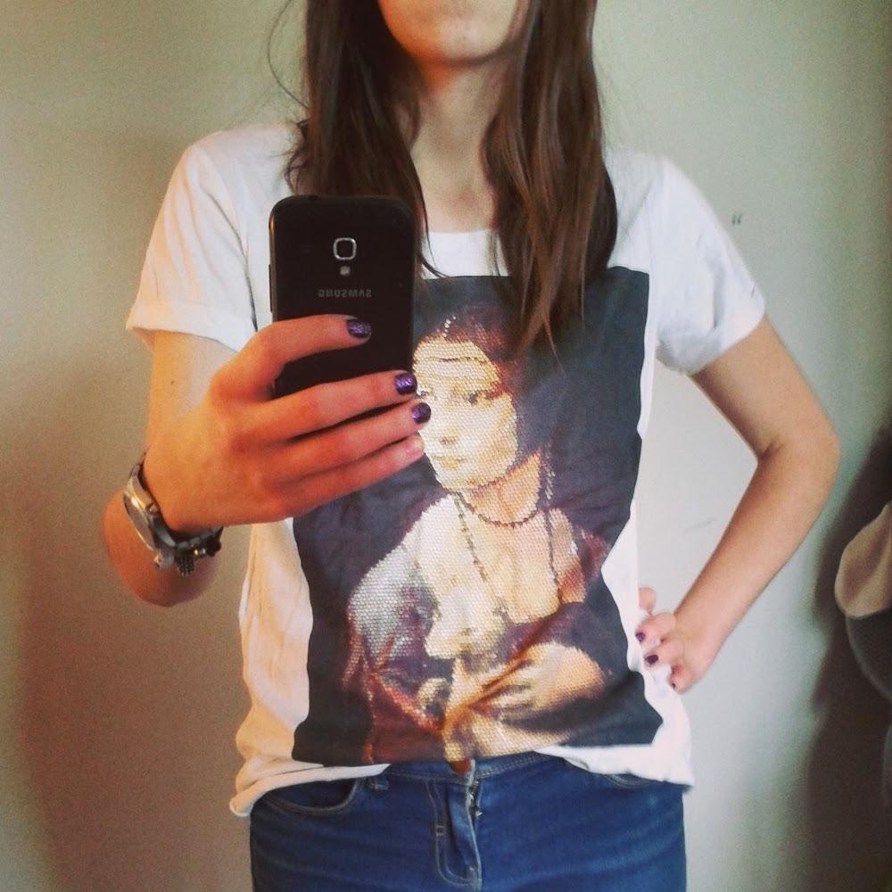 Ubraniowy niezbędnik, czyli 6 rzeczy bez których nie wyobrażam sobie swojej szafy tshirt blog