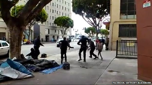 Homeless Man Was Unarmed-Witnesses