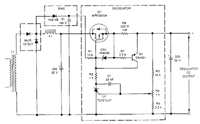 Low Dropout Linear Regulator Circuit Diagram