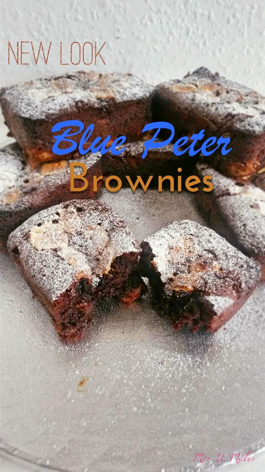 Blue Peter Brownies by Mrs U Makes
