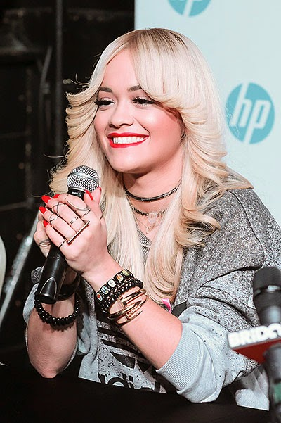 Rita Ora in Moscow